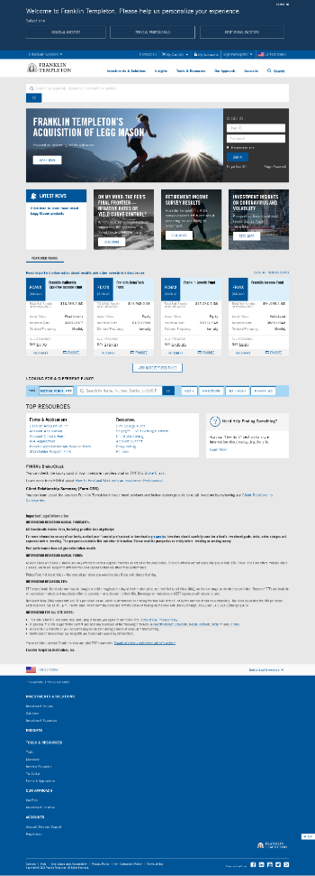 Franklin Limited Duration Income Trust Website Screenshot