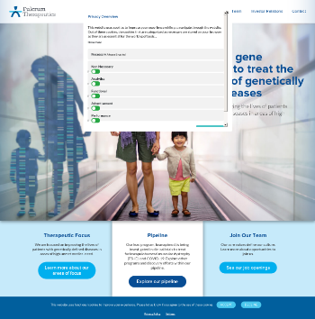 Fulcrum Therapeutics, Inc. Website Screenshot