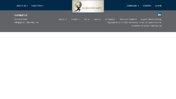 Global Indemnity Limited Website Screenshot