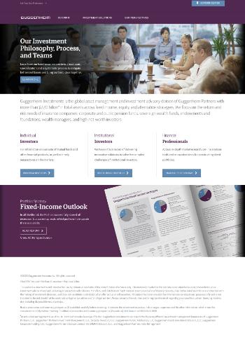 Guggenheim Credit Allocation Fund Website Screenshot