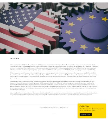 Galileo Acquisition Corp. Website Screenshot