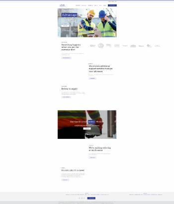 GMS Inc. Website Screenshot