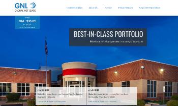 Global Net Lease, Inc. Website Screenshot