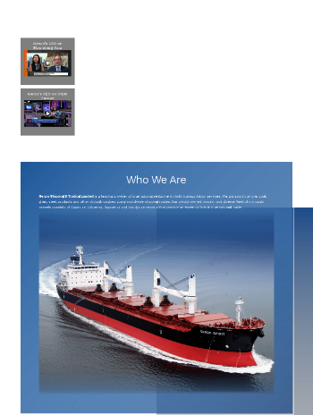Genco Shipping & Trading Limited Website Screenshot