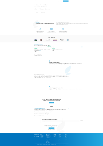GoHealth, Inc. Website Screenshot