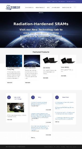 GSI Technology, Inc. Website Screenshot