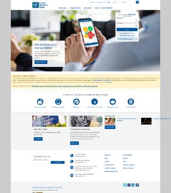 Great Western Bancorp, Inc. Website Screenshot