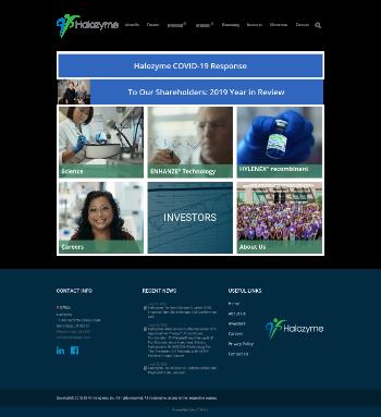 Halozyme Therapeutics, Inc. Website Screenshot
