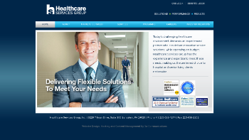 Healthcare Services Group, Inc. Website Screenshot