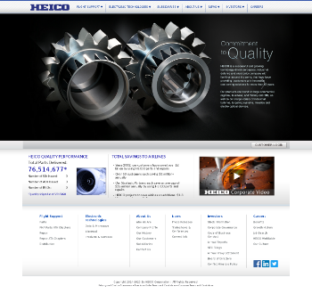 HEICO Corporation Website Screenshot
