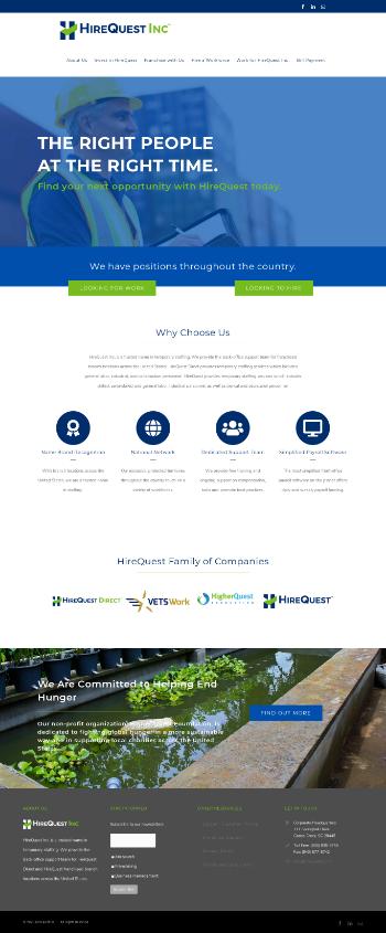 HireQuest, Inc. Website Screenshot