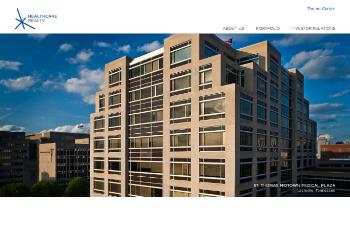 Healthcare Realty Trust Incorporated Website Screenshot