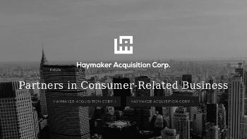 Haymaker Acquisition Corp. II Website Screenshot