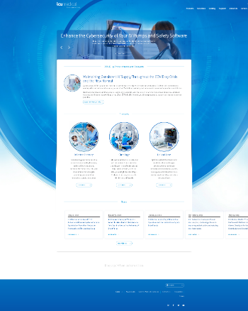 ICU Medical, Inc. Website Screenshot