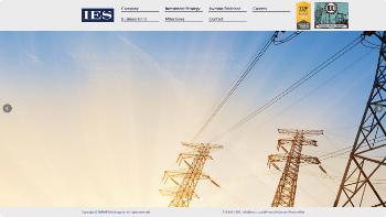 IES Holdings, Inc. Website Screenshot