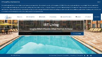 Independence Realty Trust, Inc. Website Screenshot