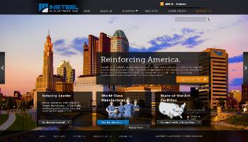 Insteel Industries, Inc. Website Screenshot