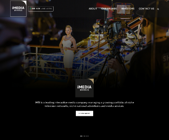 iMedia Brands, Inc. Website Screenshot