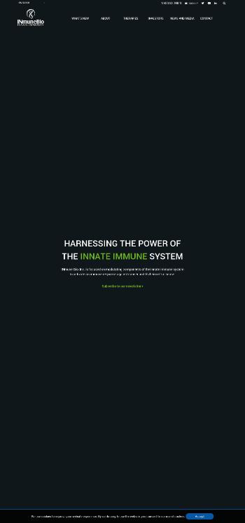INmune Bio, Inc. Website Screenshot