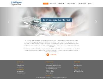 Intelligent Systems Corporation Website Screenshot