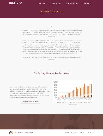 Innoviva, Inc. Website Screenshot