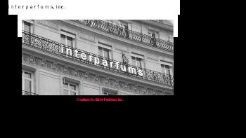 Inter Parfums, Inc. Website Screenshot