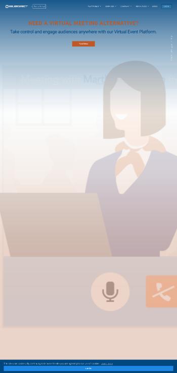 Issuer Direct Corporation Website Screenshot