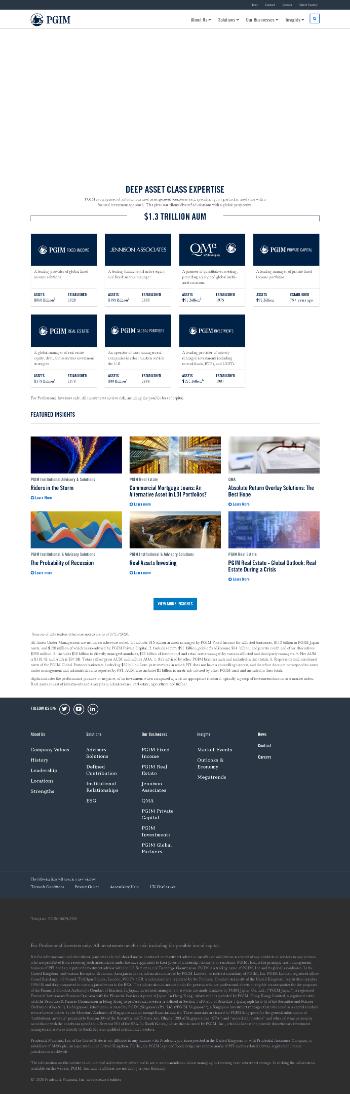 PGIM High Yield Bond Fund, Inc Website Screenshot