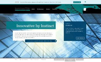 Investors Title Company Website Screenshot