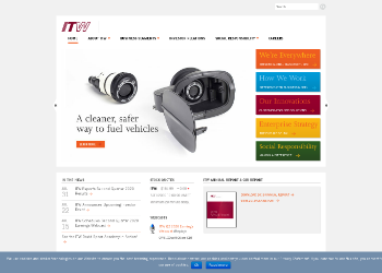 Illinois Tool Works Inc. Website Screenshot