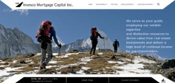 Invesco Mortgage Capital Inc. Website Screenshot