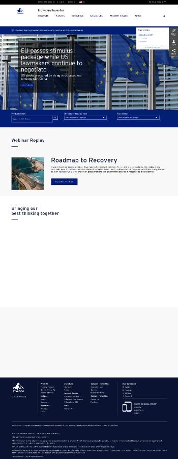 Invesco Ltd. Website Screenshot