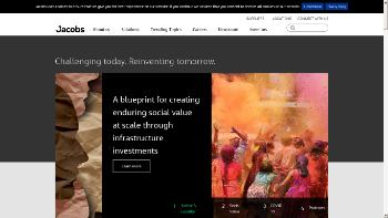 Jacobs Engineering Group Inc. Website Screenshot