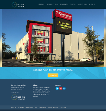 Jernigan Capital, Inc. Website Screenshot