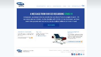 Invacare Corporation Website Screenshot