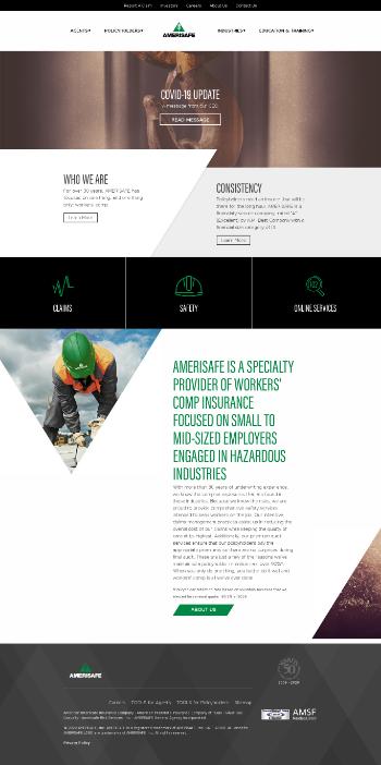 AMERISAFE, Inc. Website Screenshot