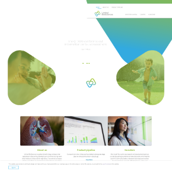 Liminal BioSciences Inc. Website Screenshot