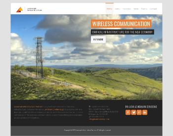 Landmark Infrastructure Partners LP Website Screenshot
