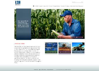 LSB Industries, Inc. Website Screenshot