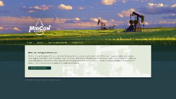 Mid-Con Energy Partners, LP Website Screenshot