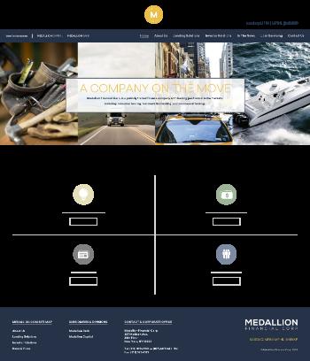 Medallion Financial Corp. Website Screenshot