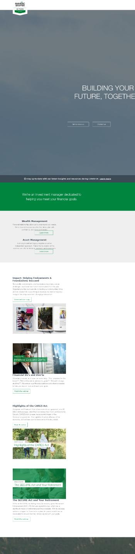 Manning & Napier, Inc. Website Screenshot
