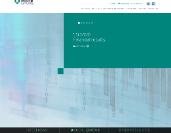 Merck & Co., Inc. Website Screenshot