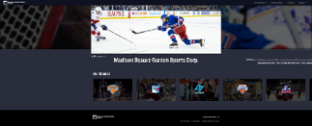 Madison Square Garden Sports Corp. Website Screenshot