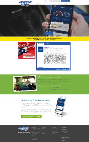 Murphy USA Inc. Website Screenshot