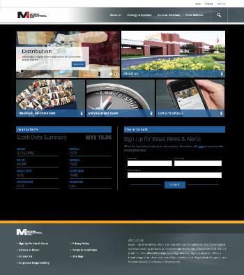 Myers Industries, Inc. Website Screenshot