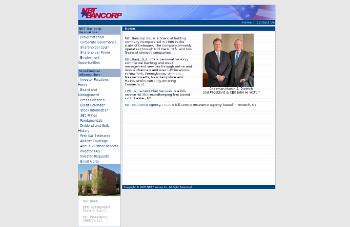 NBT Bancorp Inc. Website Screenshot