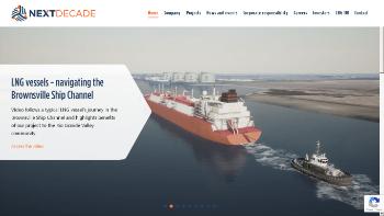 NextDecade Corporation Website Screenshot
