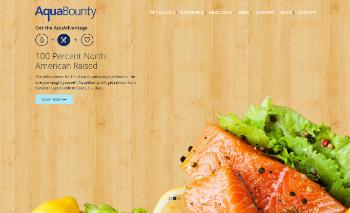 AquaBounty Technologies, Inc. Website Screenshot