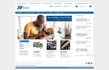 New Jersey Resources Corporation Website Screenshot
